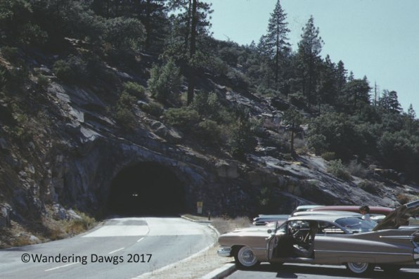 Tunnel in Yosemite National Park, 1959