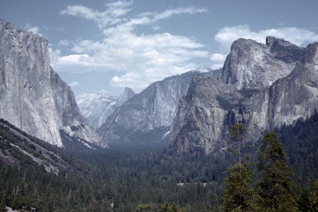My Dad's slide of Yosemite Valley, 1959