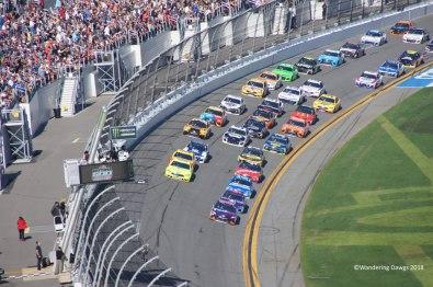 Start/Finish line at Daytona 500