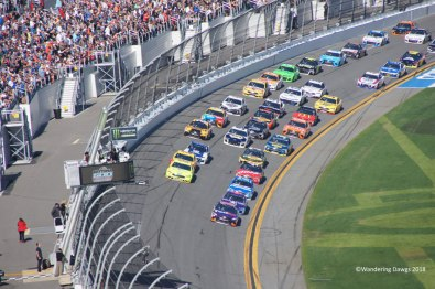 Start/Finish line at Daytona 500