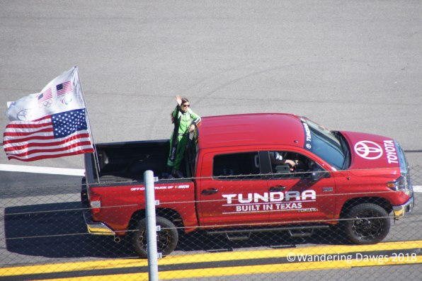 Danica Patrick before her last NASCAR race