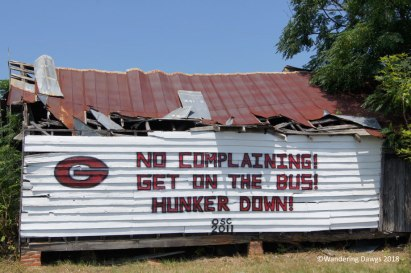 UGA Barn Sign 8-23-2011