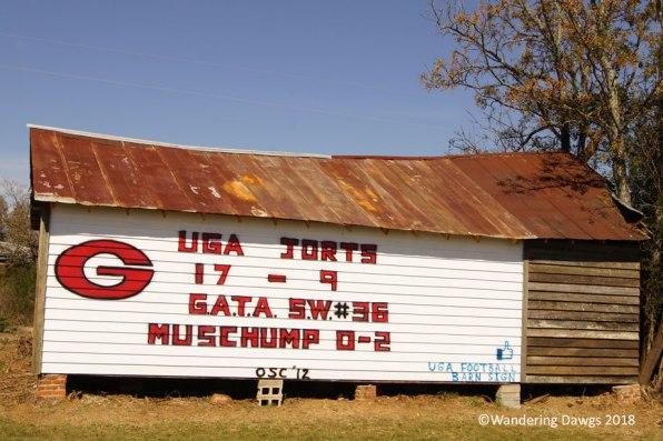 GA Barn Sign 11-02-2012