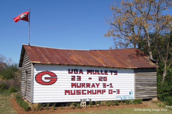 UGA Barn Sign 11-08-2013