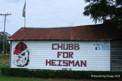 UGA Barn Sign 8-21-2015