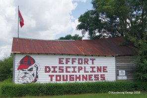 UGA Barn Sign 7-24-2017