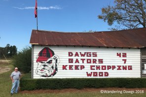 UGA Barn Sign 11-2-2017