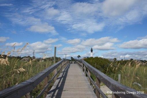 Walkway at Tybee Island North Beach