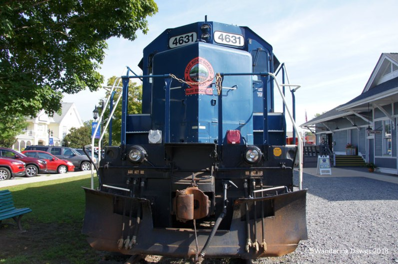 Blue Ridge Scenic Railway, Blue Ridge Depot