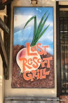 Last Resort Grill serves delicious food using fresh grown produce from local farmers