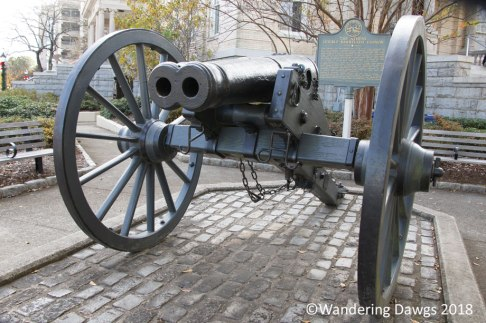 The only known Double Barrelled Cannon