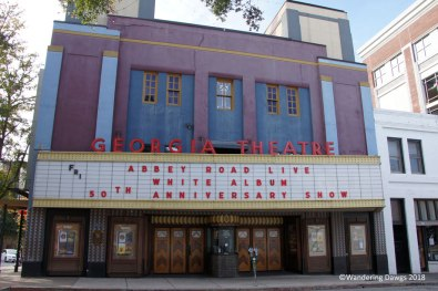 The Georgia Theatre, a popular concert hall, was destroyed by fire in 2009 and rebuilt in 2011