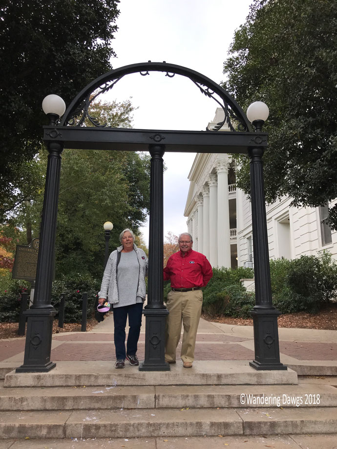 The Wandering Dawgs at the University of Georgia
