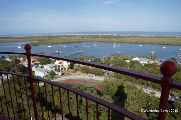 View from the top of the St. Augustine Lighthouse