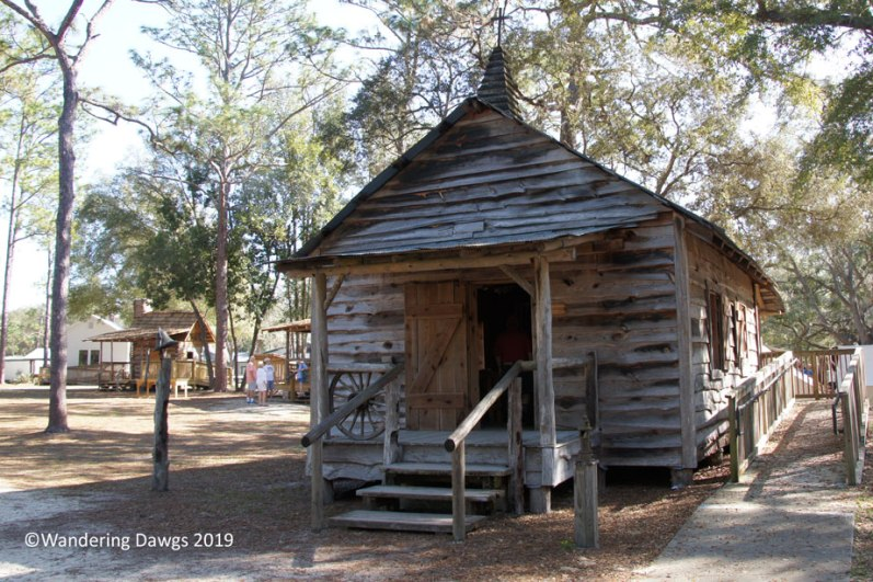 Church and Schoolhouse, Cracker Village, Silver Springs State Park