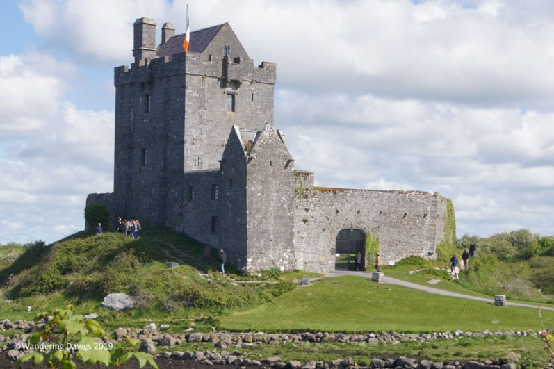 Dunguaire Castle, just outside Kinvara, Ireland on Galway Bay