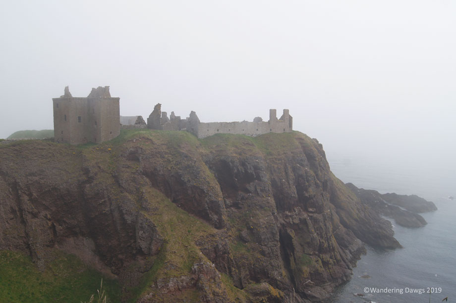 Dunnottar-Castle-on-a-Foggy-Day