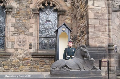 Guard at Edinburgh Castle